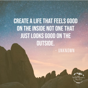 create a life - quote